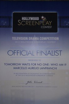 2013 Hollywood Screenplay Award